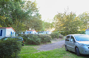 Camping Le Picouty : Locations de Mobil Home